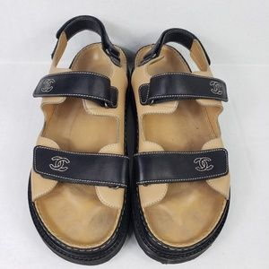 Chanel Women's Scrap Sandals Size 11